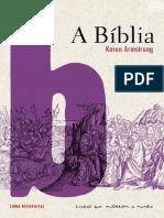 A Bíblia - Uma Biografia - Karen Armstrong