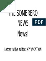 The Sombrero News