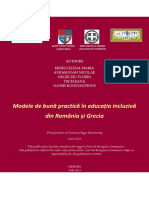 Models of Good Practice in Inclusive Education in Romania and Greece 1