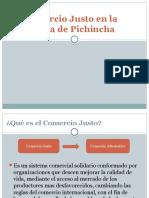 El Comercio Justo en La Provincia de Pichincha
