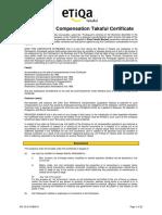 ETB Certificate