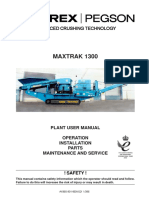 1300 Maxtrak Manual Parts