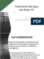Tratamiento de Agua Por Rayos Ultravioleta