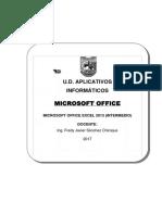 Aplicativos Informaticos - Execel Intermedio