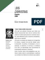 Los Coristas (Francia, 2004)