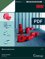 Catálogo Moto Redutores SEW Eurodrive