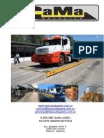 Especificaciones Báscula Camionera GaMa - Victoria