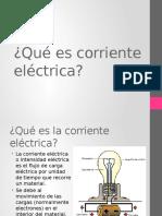 Qué Es Corriente Eléctrica