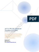 ACCA P6 UK Notes FA 2016 AccountancyTube.com