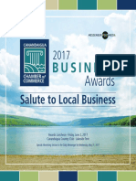 Chamber Business Awards 2017