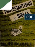 Protestantismo y Biblia