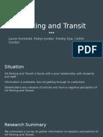 ua parking and transit presentation