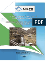 1.4 (b) Estudio Hidrologico de La Quebrada Atacocha-1