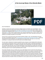 Johnsanidopoulos.com-Concerning Reports of the Incorrupt Body of the Athonite Monk Stephen