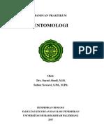Panduan Praktikum Entomologi 2017