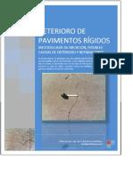 Deterioro de Pavimentos Rígidos Metodología de Medición, Posibles Causas de Deterioro y Reparaciones - PDF