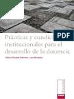 Prácticas y condiciones institucionales para el desarrollo de la docencia