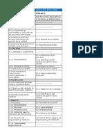 Matriz de Correlación ISO 9001 2015 a 2008