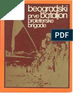 Beogradski bataljon Prve proleterske