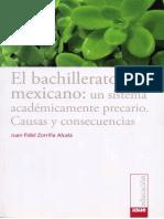 El Bachillerato Mexicano. Un Sistema Academicamente Precario