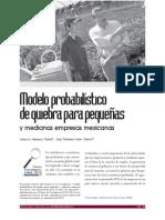 Modelo Probabilistico de Quiebra