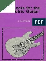 Proyectos Para Guitarra Electrica - J. Chatwin