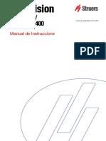 Manual de Instrucciones DuraVision 20-30-40 200 300 400 ES