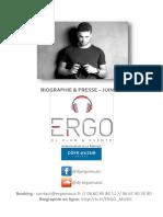 Biographie & Presse 2017