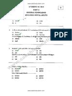 Lawcet 2012 Model Paper