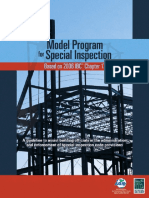 •Model Program for Special Inspection®