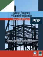 •Model Program for Special Inspection®