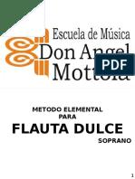 Metodo de Flauta Dulce Elemental