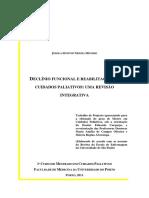 Trab Projeto - Enf Reab Paliativos - Revisao Integrativa