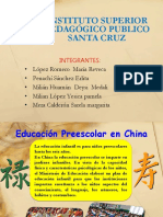 Diapositivas Educacion China