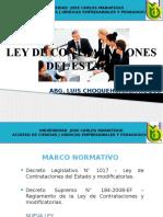 LEY DE CONTRATACIONES DEL ESTADO I.pptx