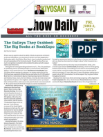 BookExpo Show Daily June 2, 2017