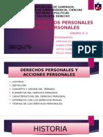 Derechos Personales y Acciones (1)