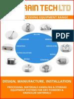 Powder Processing Equipment Range