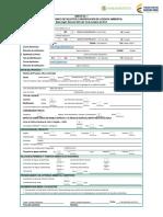 Anexo 1 Formulario Unico Solicitud o Modificación Licencia Ambiental (Autoguardado)