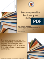 La Comprensión Lectora y Su Didáctica MOMENTOS de LA LECTURA