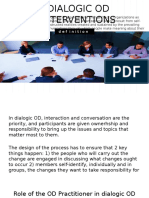 Dialogic OD Interventions