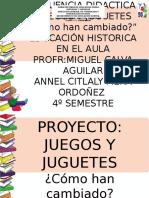 Hist Proy Juegos y Juguetes