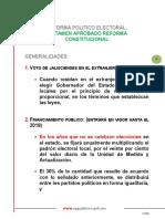 Dictamen Aprobado Reforma Electoral del Estado de Jalisco