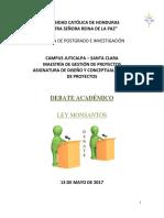 Formato Debate Académico Ad512 Jut