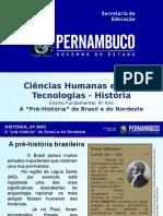 """A """"Pré-História"""" Do Brasil e Do Nordeste"""