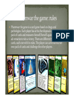 Rules for Pharmwar the Game