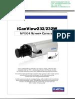 camara icantek iCanView232