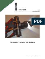 Streamlight's ProTac HL USB Headlamp