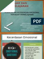 Peningkatan Kecerdasan Emosional Terhadap Pembelajaran