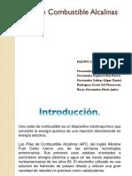 Pilas de Combustible Alcalinas (AFC)